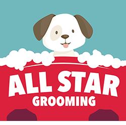 all star grooming logo